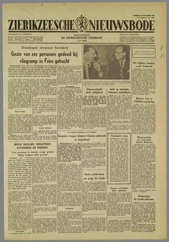 Zierikzeesche Nieuwsbode 1960-11-22