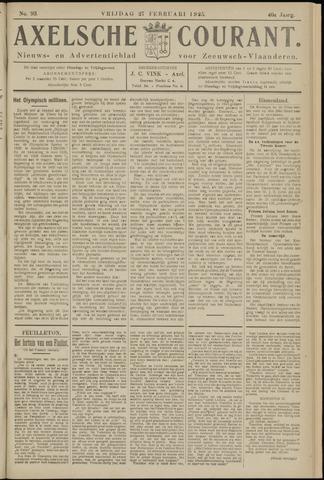 Axelsche Courant 1925-02-27