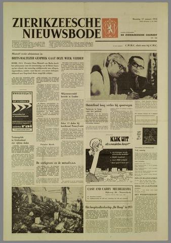 Zierikzeesche Nieuwsbode 1972-01-17