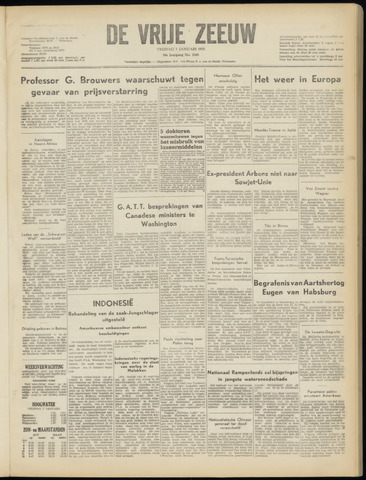 de Vrije Zeeuw 1955-01-07
