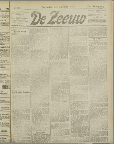 De Zeeuw. Christelijk-historisch nieuwsblad voor Zeeland 1917-01-20