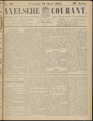Axelsche Courant 1913-03-19