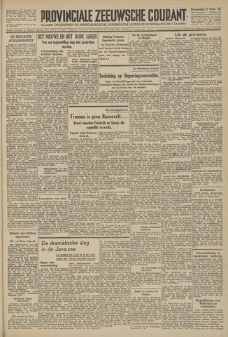 Provinciale Zeeuwse Courant 1946-02-27