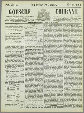 Goessche Courant 1896-01-30