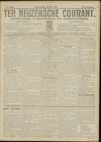 Ter Neuzensche Courant. Algemeen Nieuws- en Advertentieblad voor Zeeuwsch-Vlaanderen / Neuzensche Courant ... (idem) / (Algemeen) nieuws en advertentieblad voor Zeeuwsch-Vlaanderen 1915-07-29