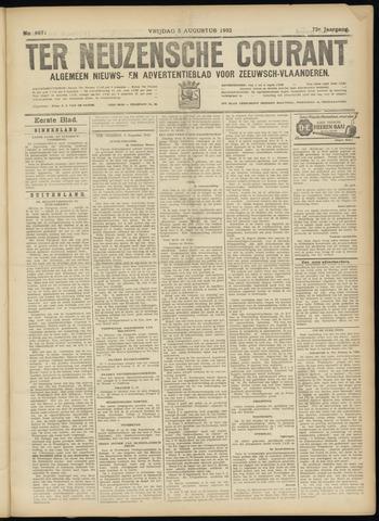 Ter Neuzensche Courant. Algemeen Nieuws- en Advertentieblad voor Zeeuwsch-Vlaanderen / Neuzensche Courant ... (idem) / (Algemeen) nieuws en advertentieblad voor Zeeuwsch-Vlaanderen 1932-08-05