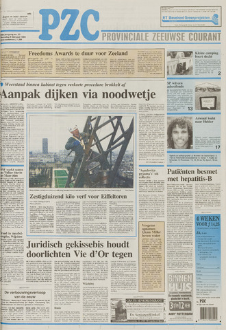 Provinciale Zeeuwse Courant 1995-02-08