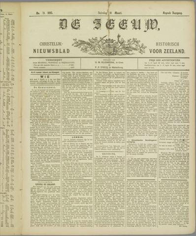 De Zeeuw. Christelijk-historisch nieuwsblad voor Zeeland 1895-03-16