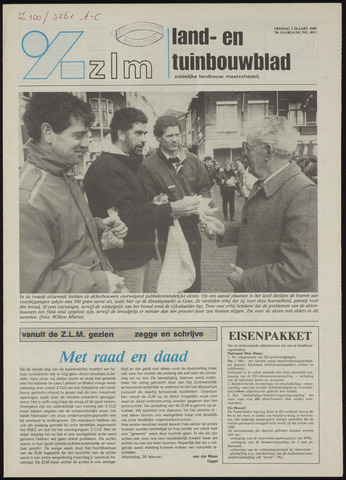 Zeeuwsch landbouwblad ... ZLM land- en tuinbouwblad 1990-03-02