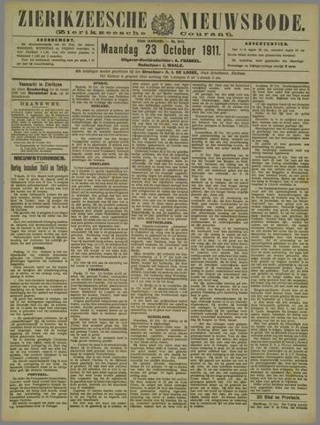 Zierikzeesche Nieuwsbode 1911-10-23