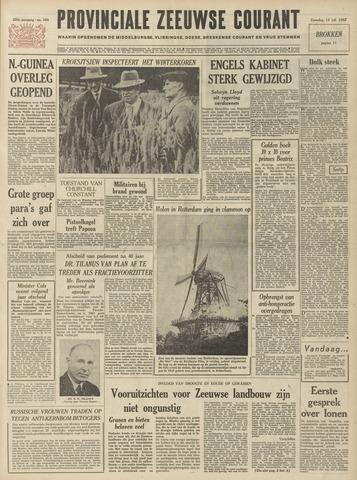 Provinciale Zeeuwse Courant 1962-07-14