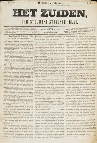 Het Zuiden, Christelijk-historisch blad 1880-02-17