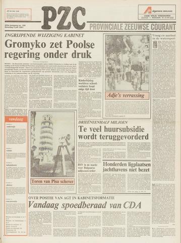 Provinciale Zeeuwse Courant 1981-07-04