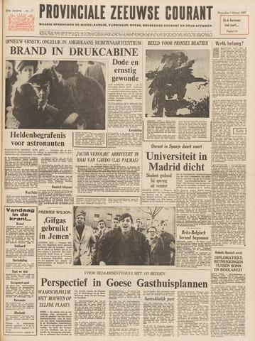 Provinciale Zeeuwse Courant 1967-02-01