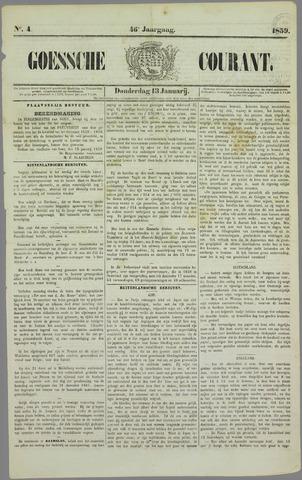 Goessche Courant 1859-01-13