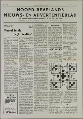 Noord-Bevelands Nieuws- en advertentieblad 1984-02-16