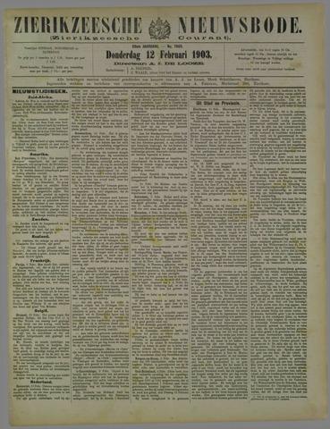 Zierikzeesche Nieuwsbode 1903-02-12