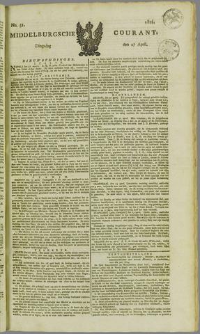 Middelburgsche Courant 1824-04-27