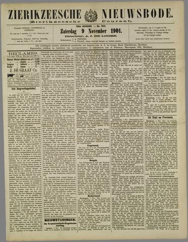 Zierikzeesche Nieuwsbode 1901-11-09