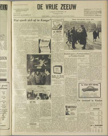 de Vrije Zeeuw 1961-11-18