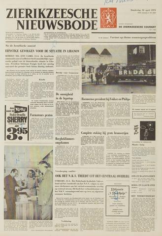 Zierikzeesche Nieuwsbode 1973-04-12