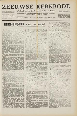 Zeeuwsche kerkbode, weekblad gewijd aan de belangen der gereformeerde kerken/ Zeeuwsch kerkblad 1951-03-30
