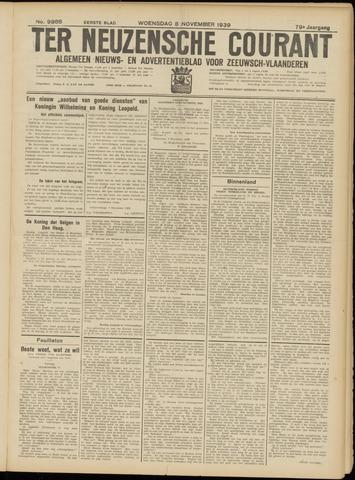 Ter Neuzensche Courant. Algemeen Nieuws- en Advertentieblad voor Zeeuwsch-Vlaanderen / Neuzensche Courant ... (idem) / (Algemeen) nieuws en advertentieblad voor Zeeuwsch-Vlaanderen 1939-11-08