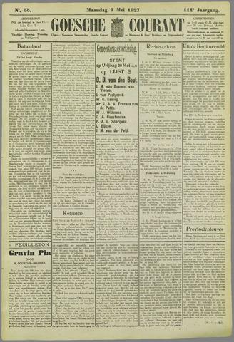 Goessche Courant 1927-05-09
