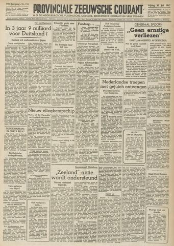 Provinciale Zeeuwse Courant 1947-07-25