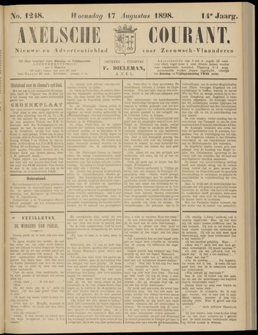 Axelsche Courant 1898-08-17