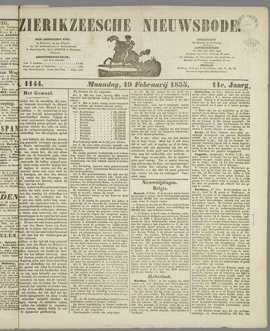 Zierikzeesche Nieuwsbode 1855-02-19