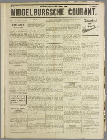 Middelburgsche Courant 1927-02-02