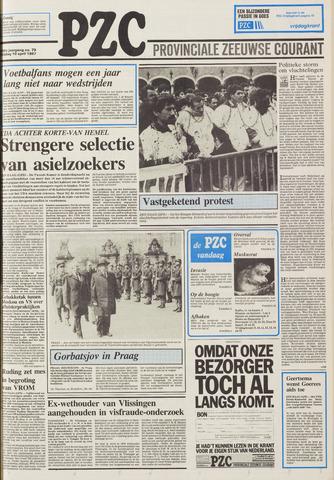 Provinciale Zeeuwse Courant 1987-04-10
