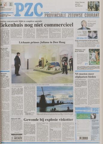 Provinciale Zeeuwse Courant 2004-03-25
