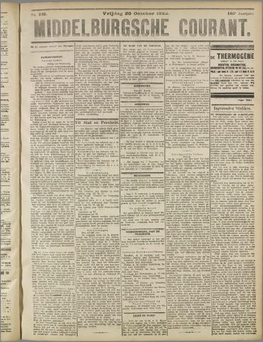 Middelburgsche Courant 1922-10-20