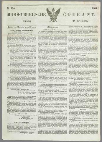 Middelburgsche Courant 1865-11-28