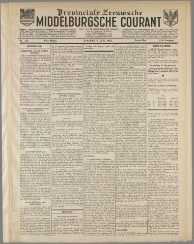 Middelburgsche Courant 1932-07-05