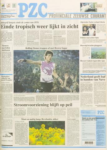 Provinciale Zeeuwse Courant 2003-08-12