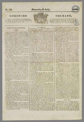 Goessche Courant 1849-07-09