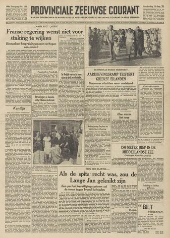 Provinciale Zeeuwse Courant 1953-08-13