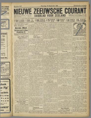 Nieuwe Zeeuwsche Courant 1921-09-10