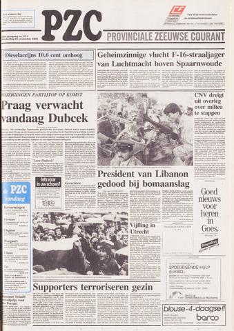 Provinciale Zeeuwse Courant 1989-11-23