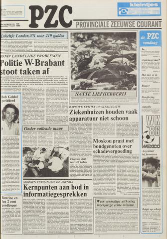 Provinciale Zeeuwse Courant 1986-06-11