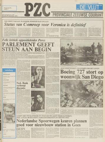 Provinciale Zeeuwse Courant 1978-09-26