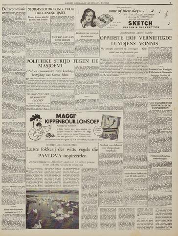Watersnood documentatie 1953 - kranten 1953-07-14
