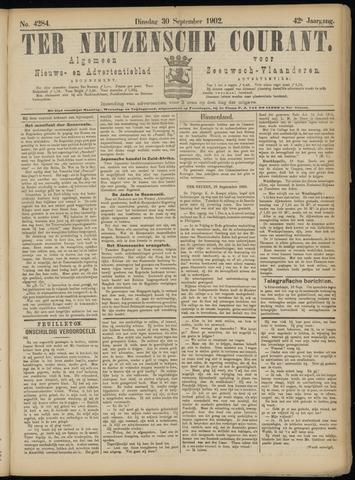 Ter Neuzensche Courant. Algemeen Nieuws- en Advertentieblad voor Zeeuwsch-Vlaanderen / Neuzensche Courant ... (idem) / (Algemeen) nieuws en advertentieblad voor Zeeuwsch-Vlaanderen 1902-09-30