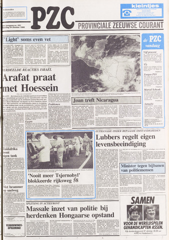 Provinciale Zeeuwse Courant 1988-10-24