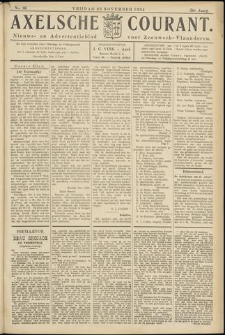Axelsche Courant 1934-11-23