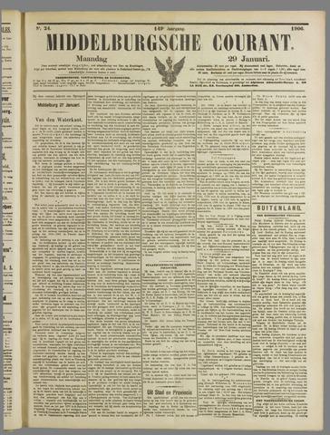 Middelburgsche Courant 1906-01-29