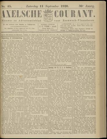 Axelsche Courant 1920-09-11